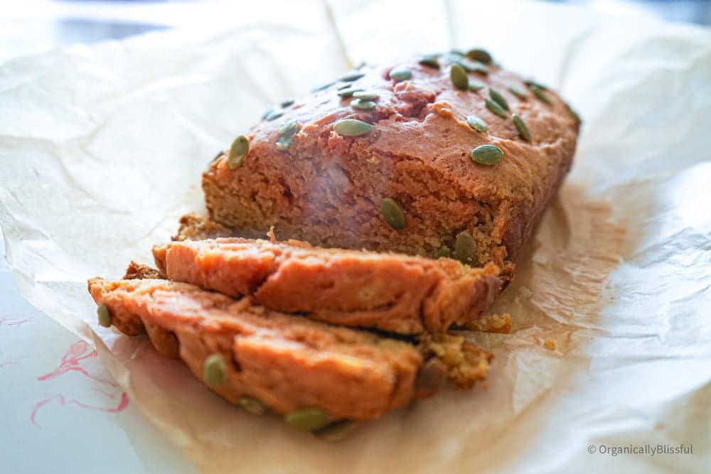 Savory Butternut Squash Bread recipe