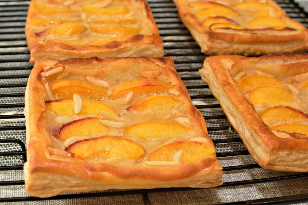 Fresh Peach Danish Pastries recipe