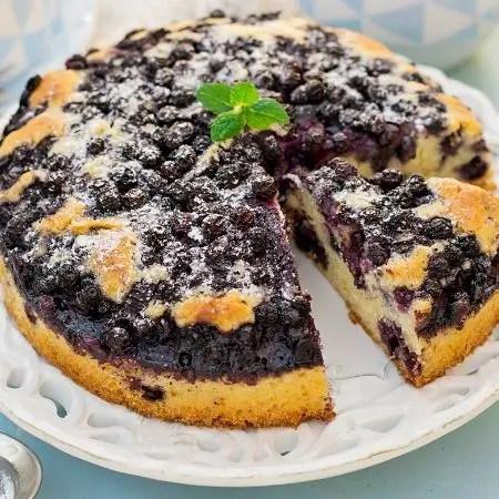 Blueberry cake recipe