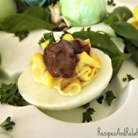 Create a Memorable Easter with Wickedly Delicious Deviled Eggs and Blueberry-Zenify Cocktails
