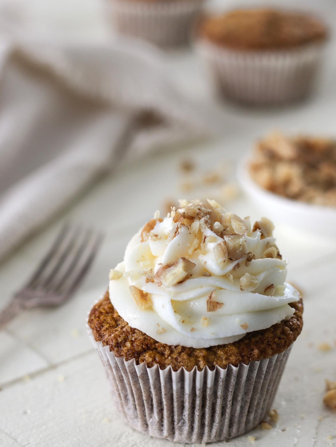 Carrot Cake Cupcakes Recipe