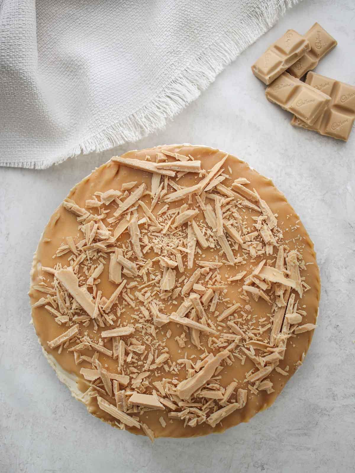 Caramilk Cheesecake Recipe