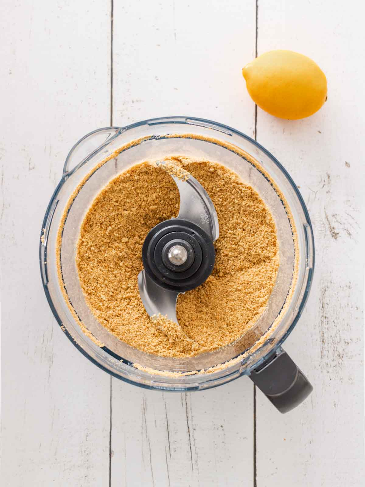 Biscuits in a food processor