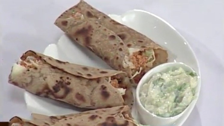 Spicy Paneer Wrap – Spicy Cottage Cheese Wrap