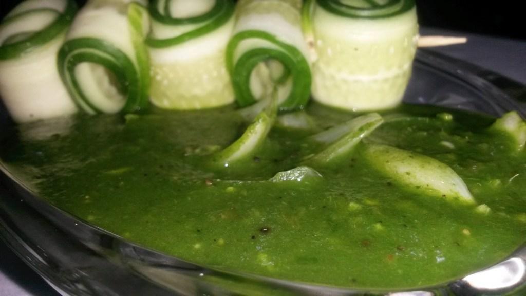 Spinach in Hot Garlic Sauce