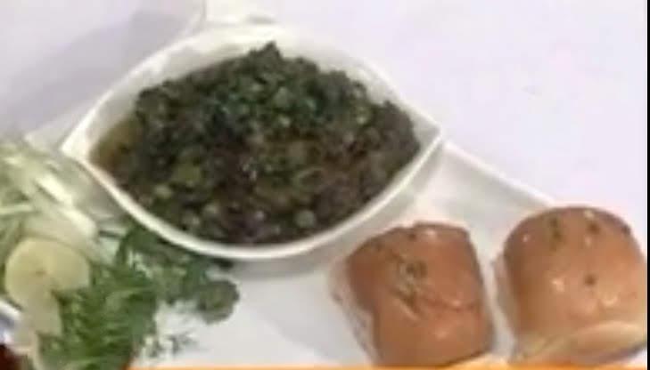 Green Bhaji Pav