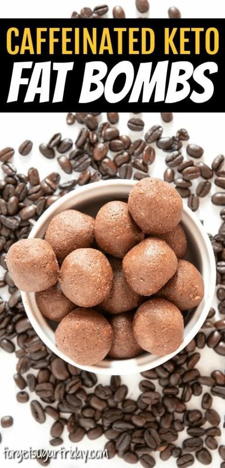 Caffeinated Keto Fat Bombs