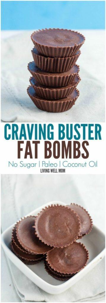 No Sugar Craving Buster Fat Bombs