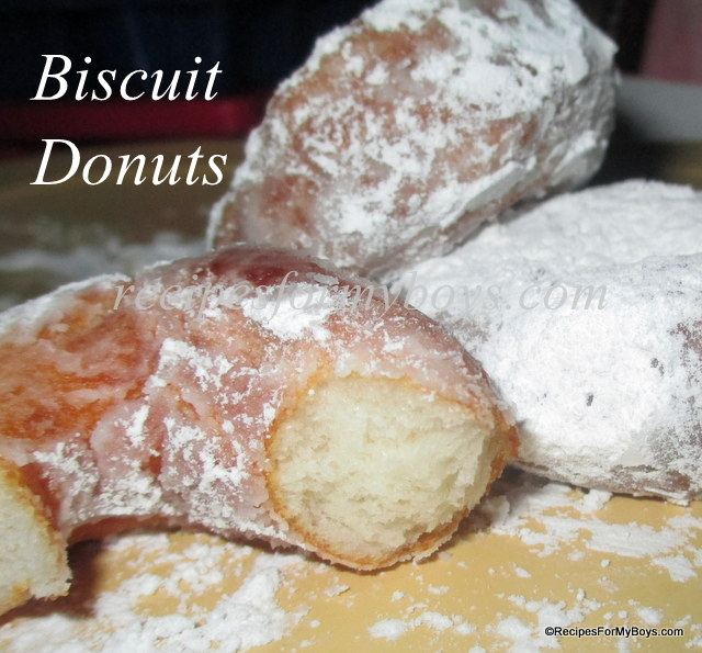 Biscuit Donuts