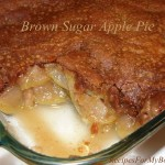 Brown Sugar Apple Pie
