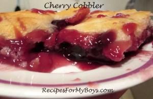 Cherry Cobbler 2