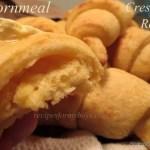 Cornmeal Crescent Rolls