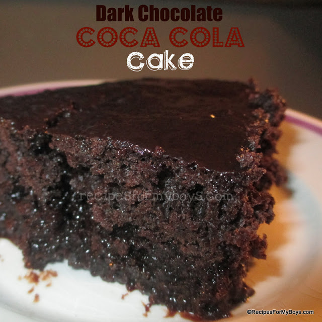 Dark Chocolate Coca Cola Cake From A Cake Mix