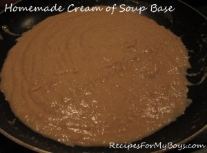 Homemade Cream of Soup Base