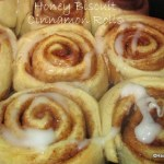 Honey Biscuit Cinnamon Rolls