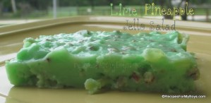 Lime Pineapple Jello Salad