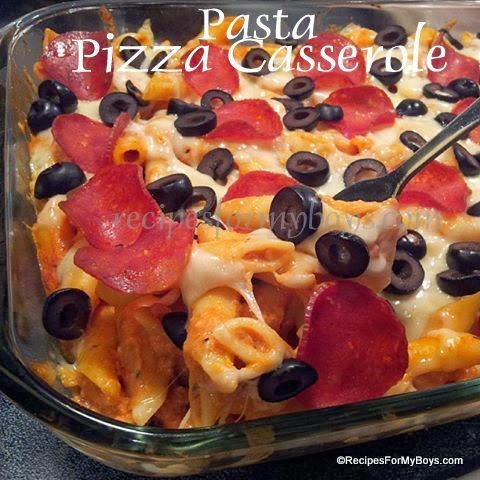 You are currently viewing Pasta Pizza Casserole