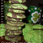 Peppermint Dark Chocolate Cake Mix Cookies