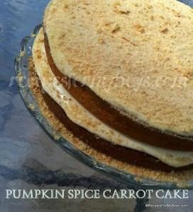 Pumpkin Spice Carrot Cake
