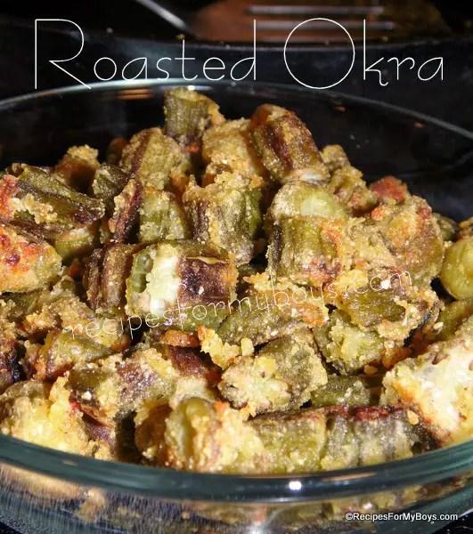 Roasted Okra