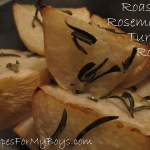 Read more about the article Roasted Rosemary Turnip Roots