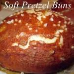 Soft Pretzel Buns
