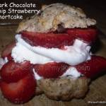 Dark Chocolate Chip Strawberry Shortcakes