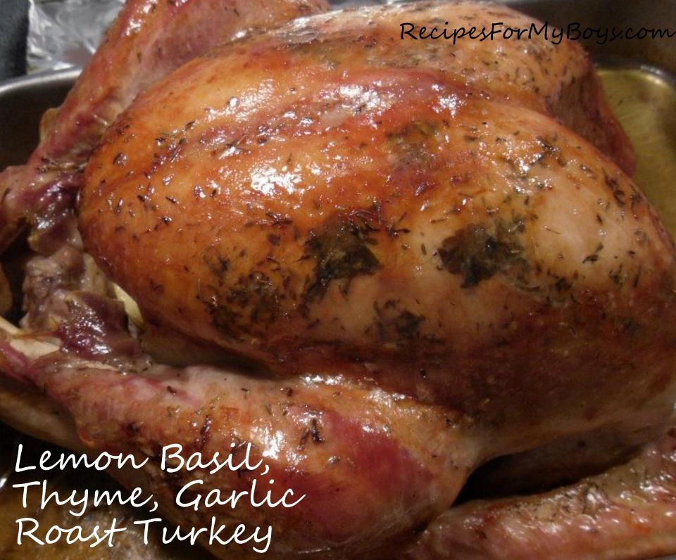 Moist and Flavorful Roasted Turkey