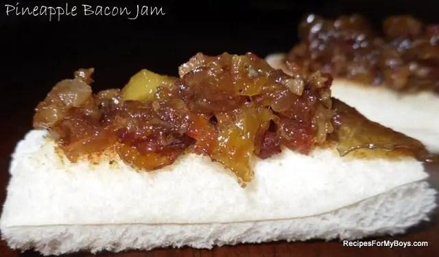 Pineapple Bacon Jam