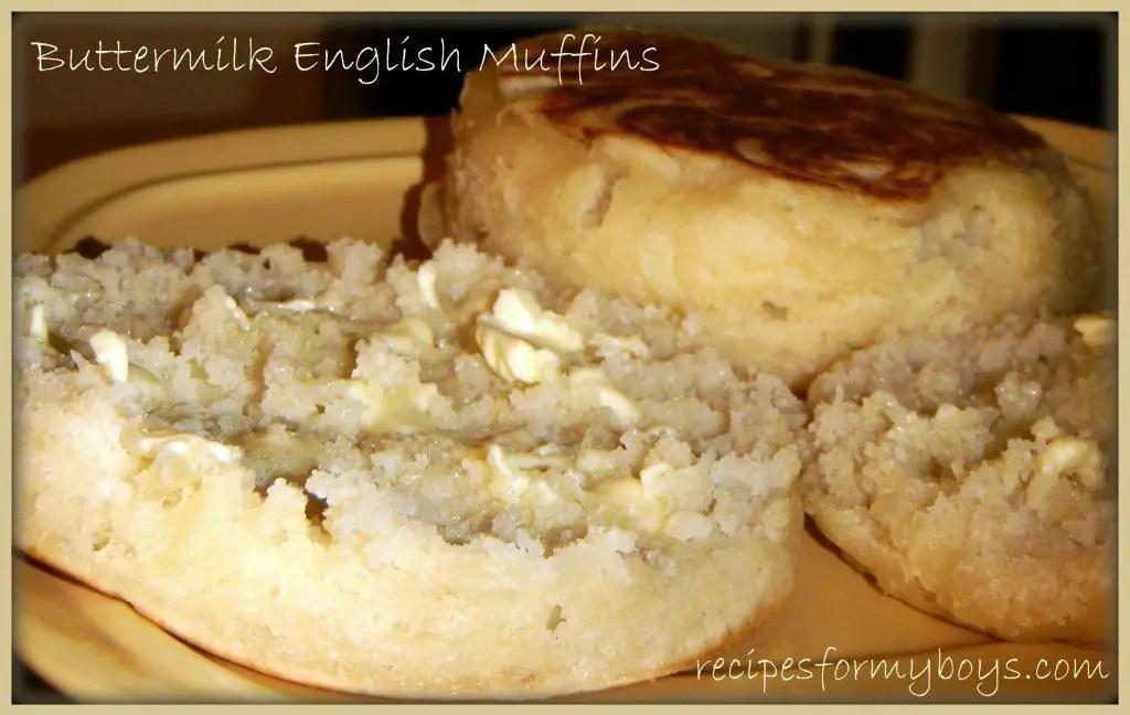 Buttermilk English Muffin