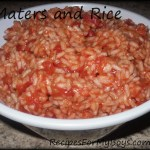 Maters and Rice