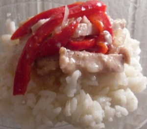 Read more about the article Pork and Peppers