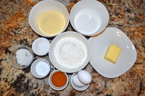 Corn Muffins - Ingredients