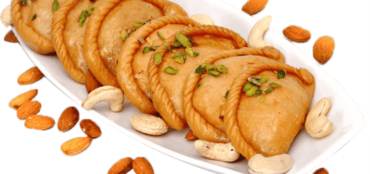 Gujiya Recipe in hindi