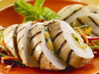 Vidalia Onion and Ricotta Stuffed Grilled Chicken