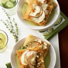 Savory Onion & Apple Tart