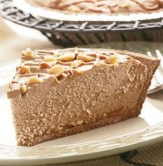 %name   Easy Peanut Butter Chocolate Cheesecake Pie   RecipesNow.com