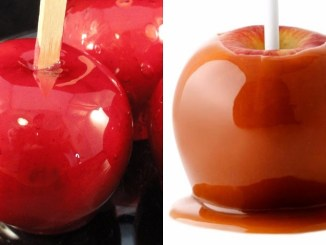 Candied And Caramel Apples