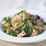 Farfalle With Tuna, Lemon And Swiss Chard