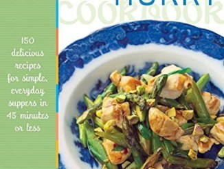Healthy In A Hurry CookBook