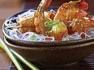 Citrus Sesame Shrimp