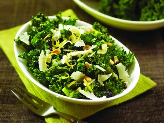 Fresh and Crispy Kale Salad