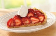 Glazed Fresh Strawberry Pie