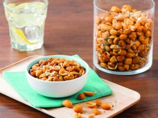 Rosemary, Parmesan and Black Pepper Roasted Peanuts