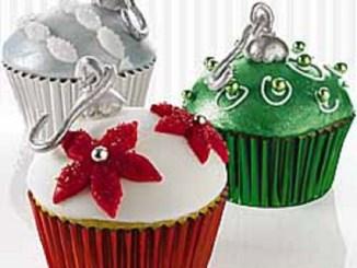 Ornament Cupcakes   RecipesNow!