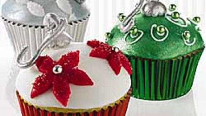 Ornament Cupcakes | RecipesNow!