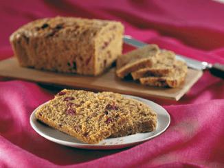 Carrot Cranberry Bread