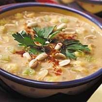 Posole-Green Chili Peanut Stew