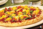 Mango and Bacon Barbecue Pizza