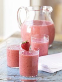 Tropical Strawberry Smoothie